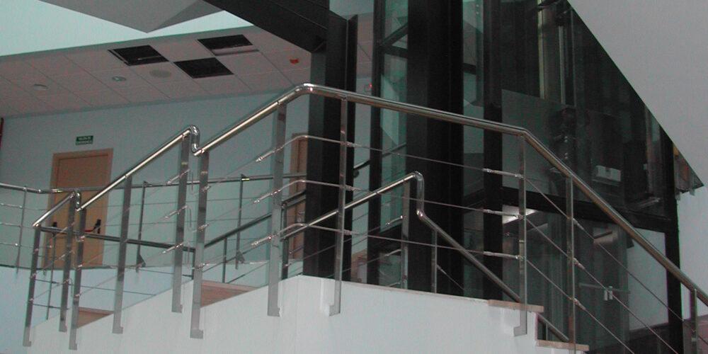 escalera hall